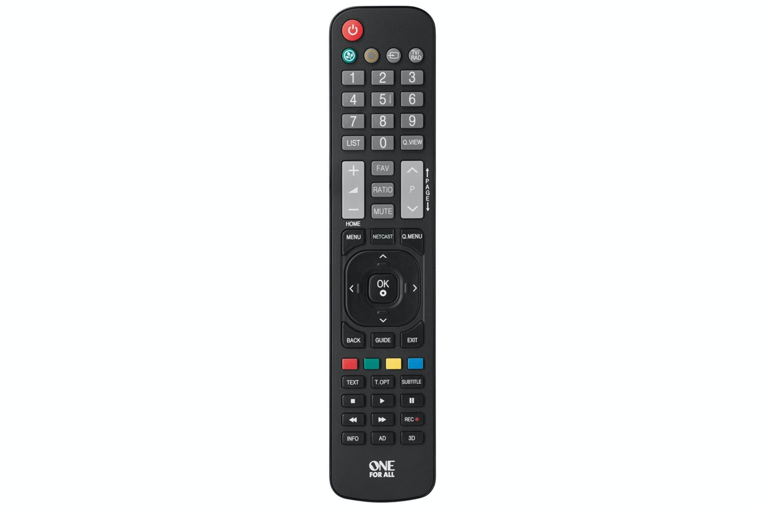 One for All LG Replacement Remote Control   URC1911