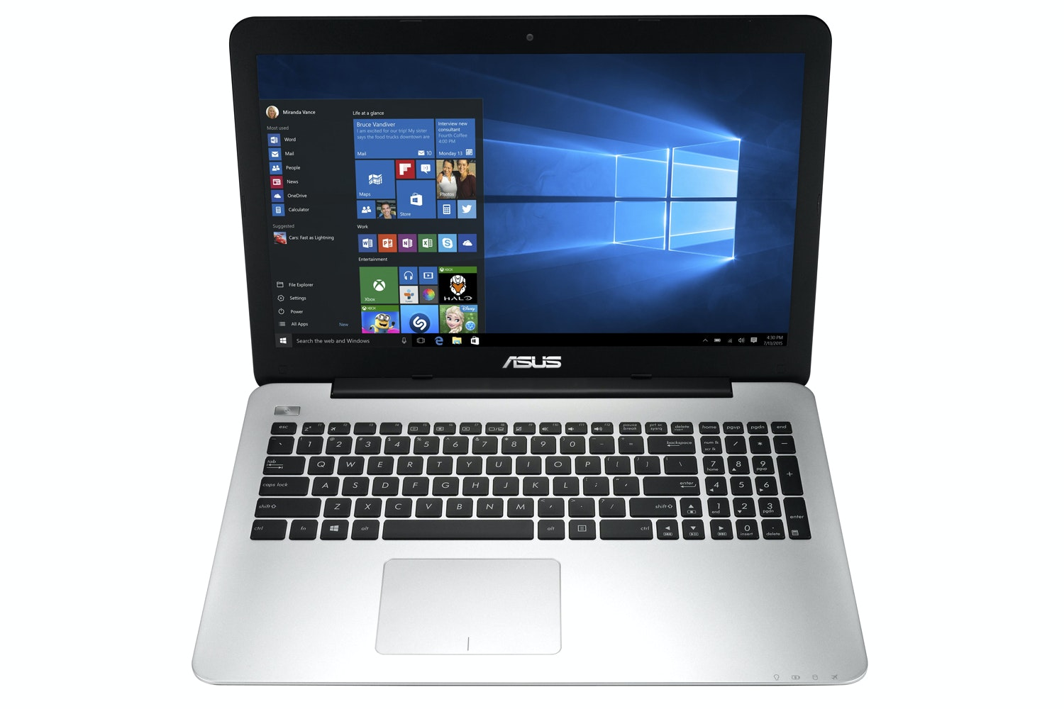 "ASUS X-Series 15.6"" AMD A12 