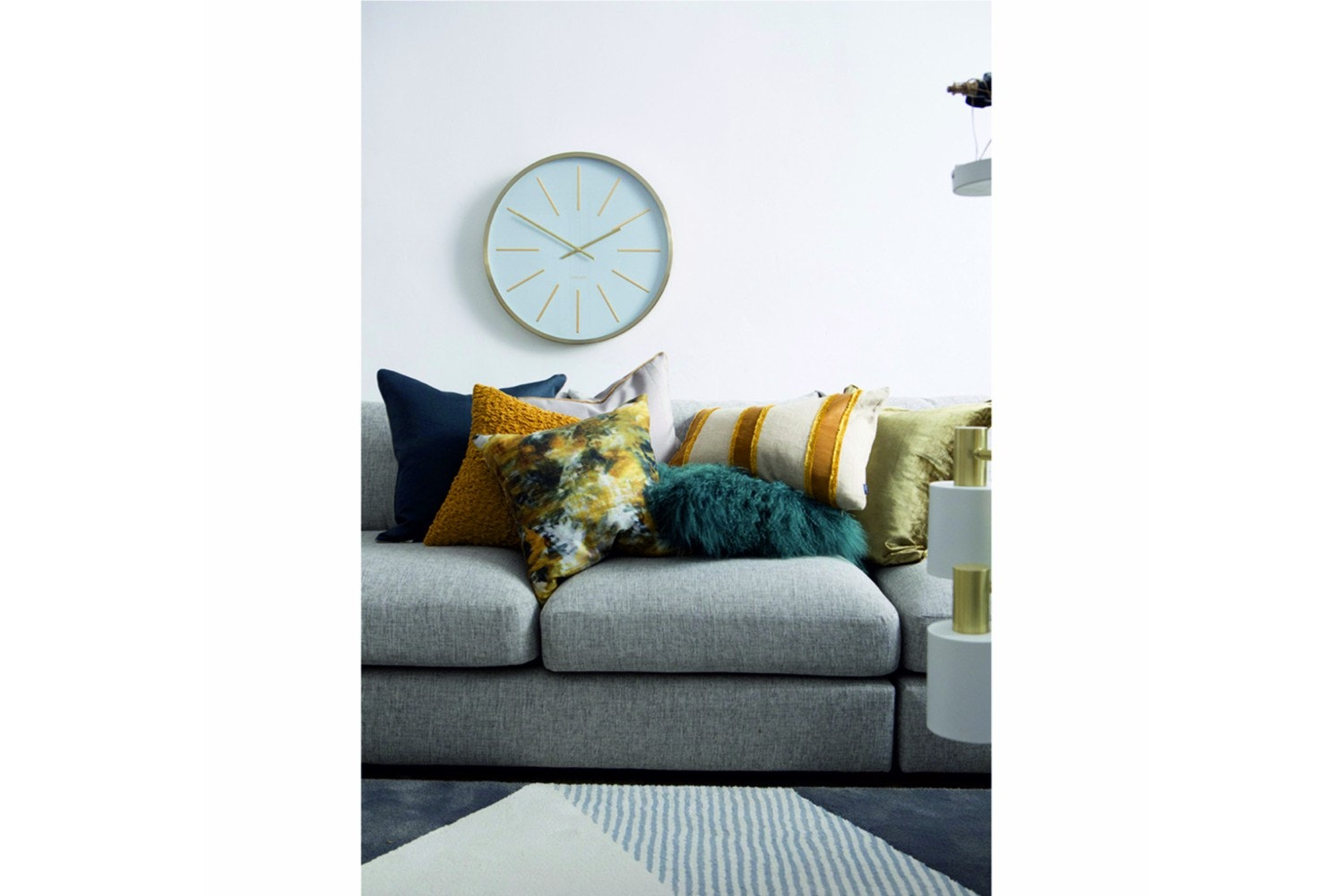 Scatterbox Verso Ochre Cushion