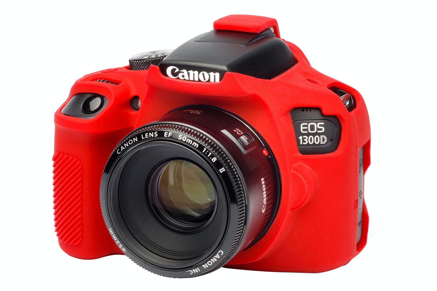 Easycover Canon 1300D Silicon Case | Red
