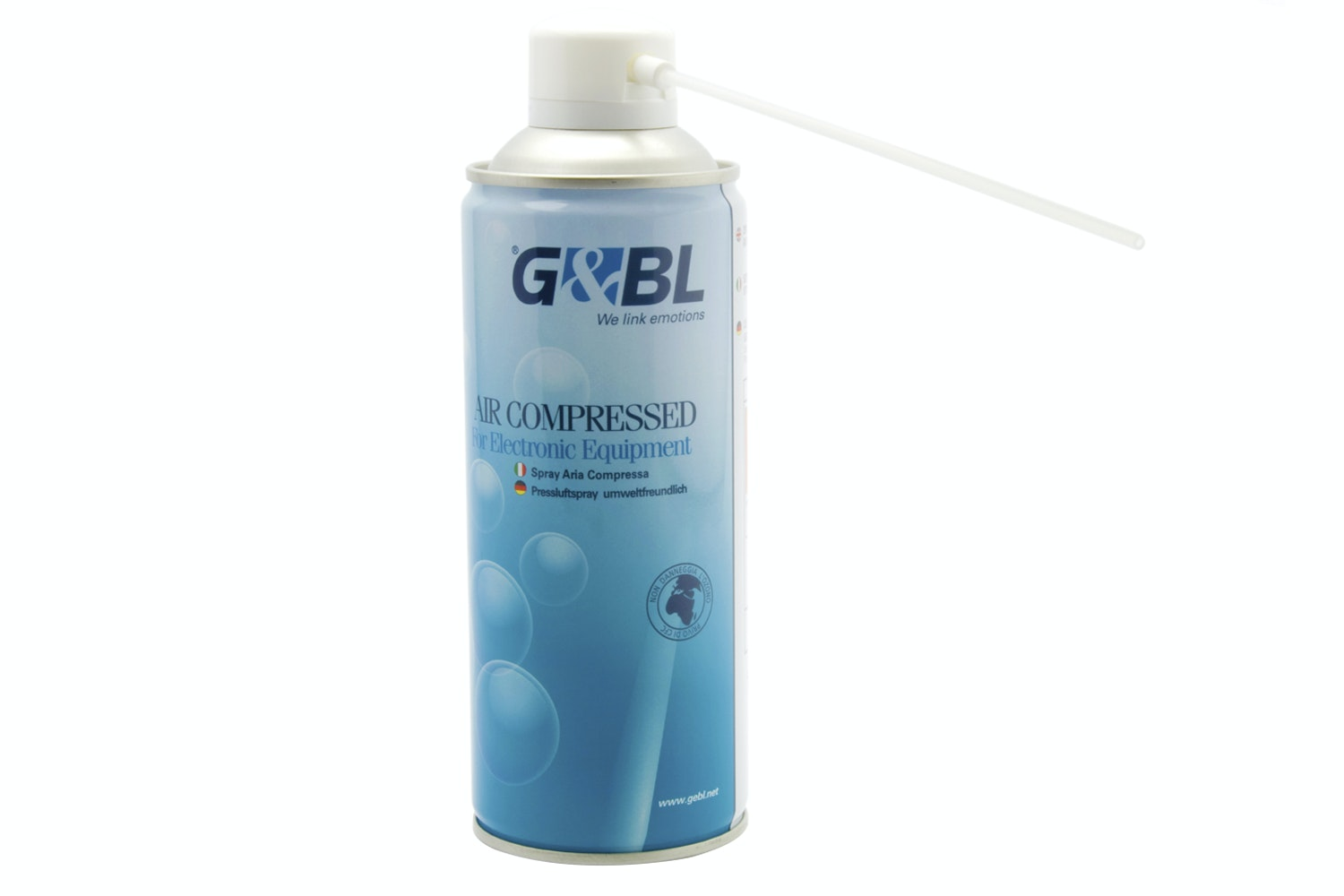 G&BL Eco Compressed Air Spray 400ml