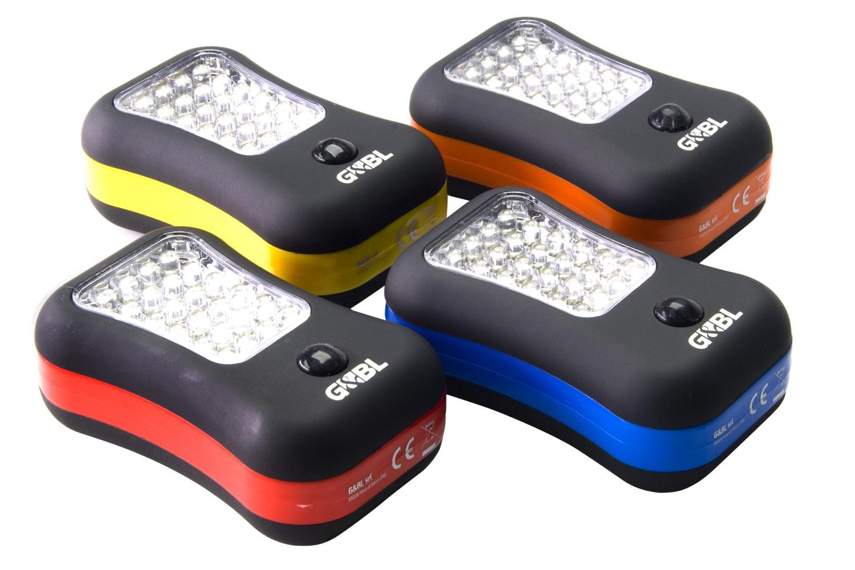 G&BL LED Flashlight Aluminium
