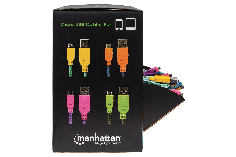 Manhattan Micro USB Braided Cable