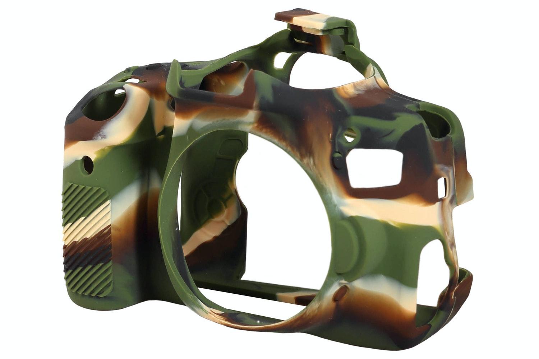 Easycover Canon 750D Silicon Case | Camouflage