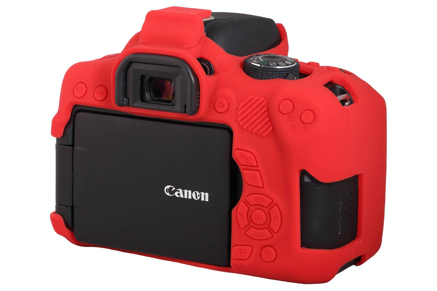 Easycover Canon 750D Silicon Case | Red