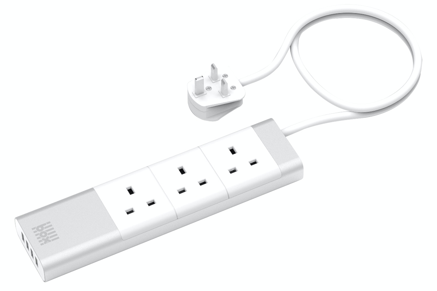Box 3 AC Surge Smart Protected Socket | White
