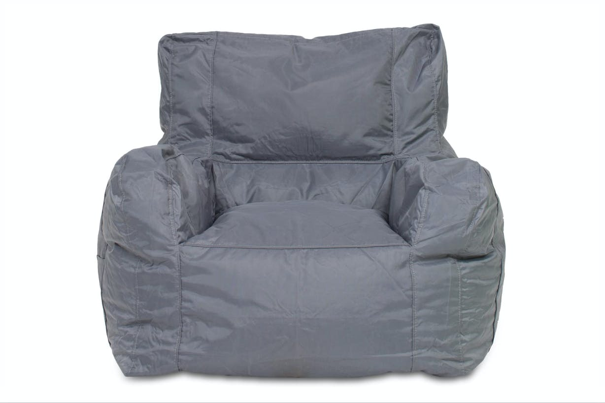 Chillax Bean Bag Teen Chair | Grey