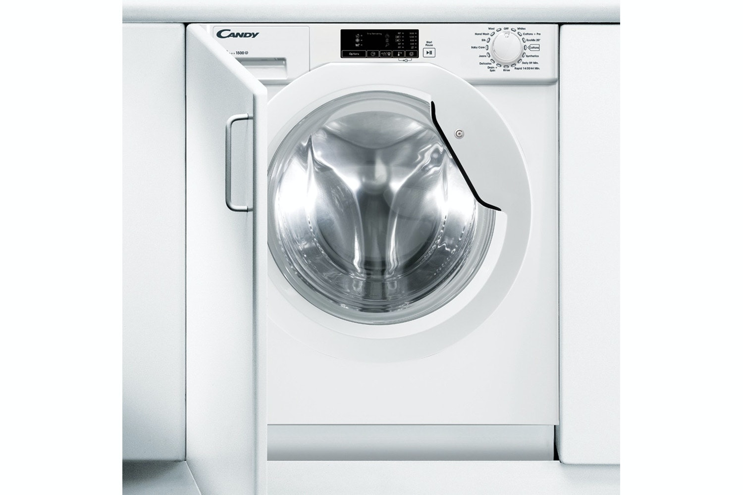 Candy 8kg Integrated Washing Machine | CBWM815D-80