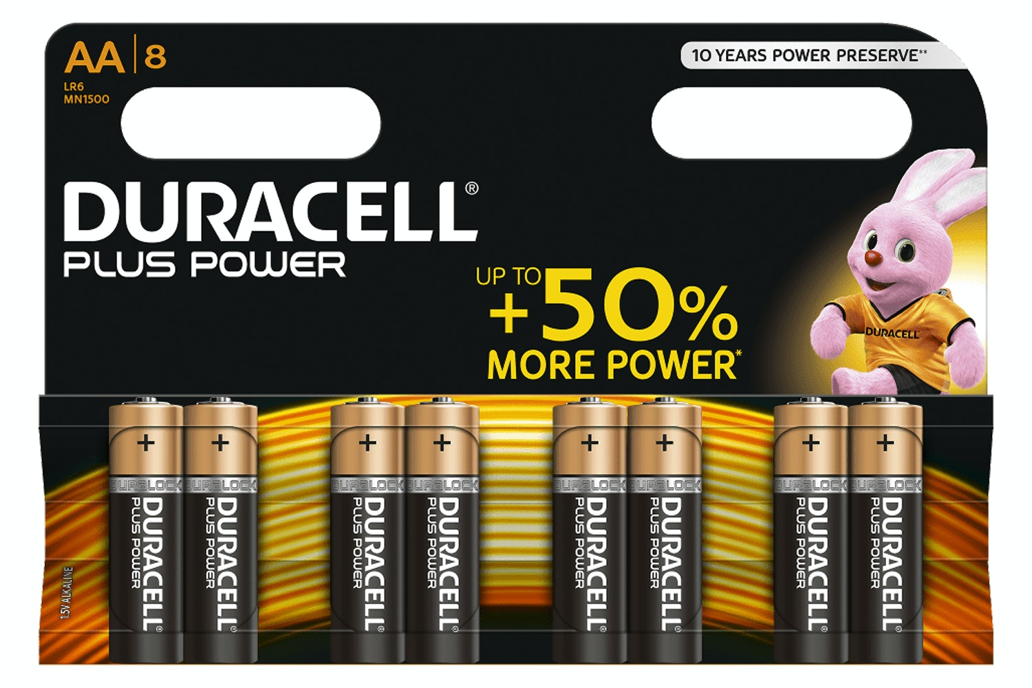 Duracell AA Batteries 5+3 | D18136