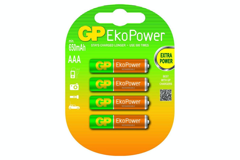 GP Smart Energy Rechargeable Batteries AAA 650 mAh | GP-119637