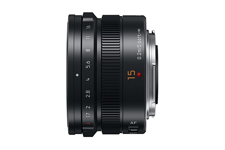 Panasonic Leica DG Summilux Lens 15 mm | H-X015E-K