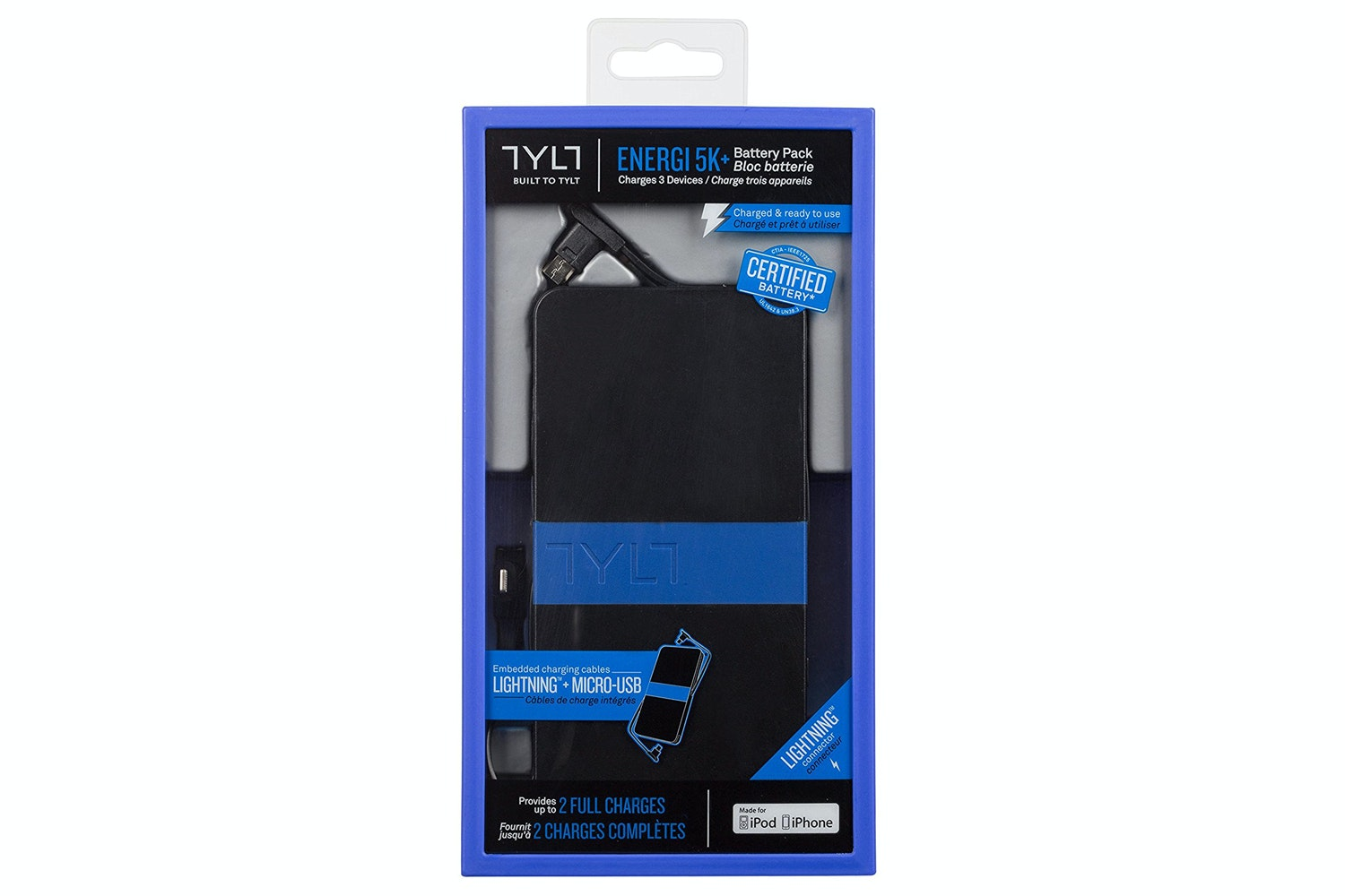 Tylt Energi 5K Power Pack | IP5ENERGI52BL-T