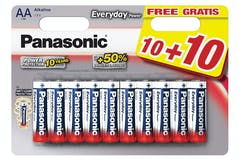 Panasonic AA Everyday Power Batteries