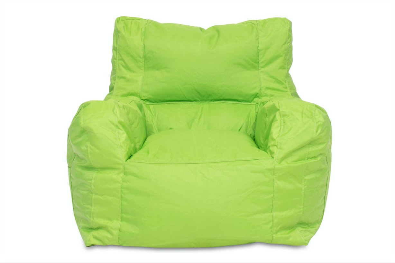 Chillax Bean Bag Teen Chair   Lime Green