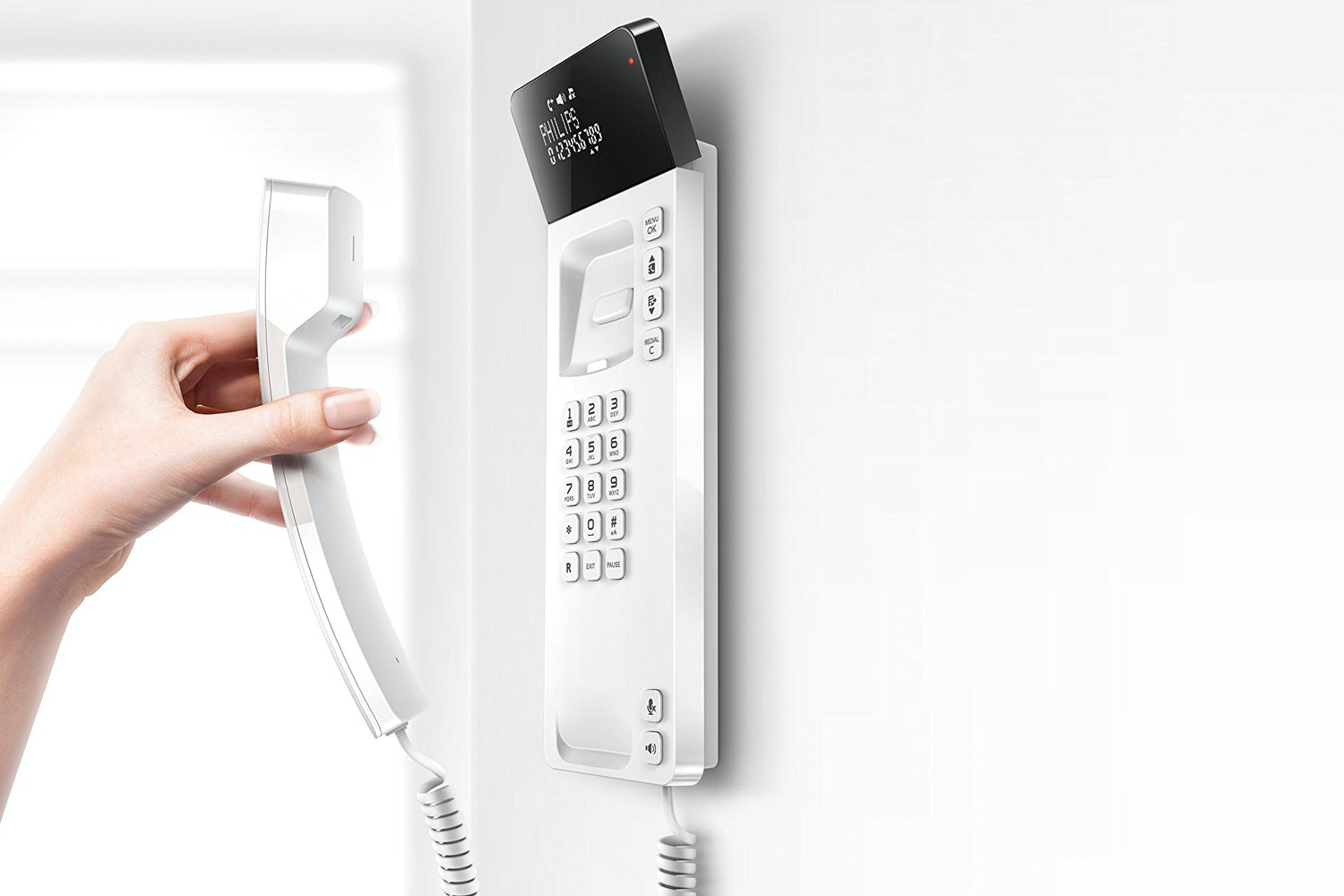 Philips Scala Design Corded Phone