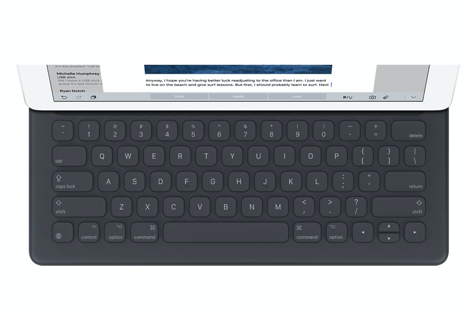 "Apple Smart Keyboard for iPad Pro 12.9"" Black 