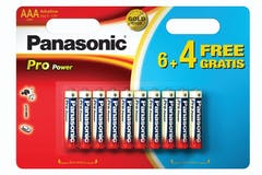 Panasonic Pro Power AAA Alkaline Batteries 1.5V | PPGLR03