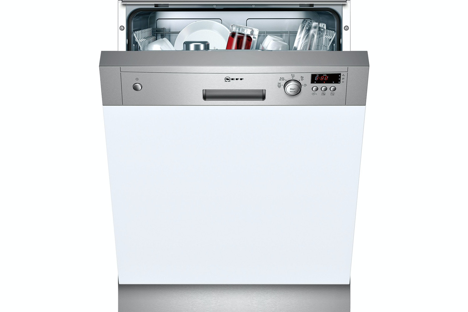 Neff Semi Integrated Dishwasher | 12 Place | S41E50N1GB