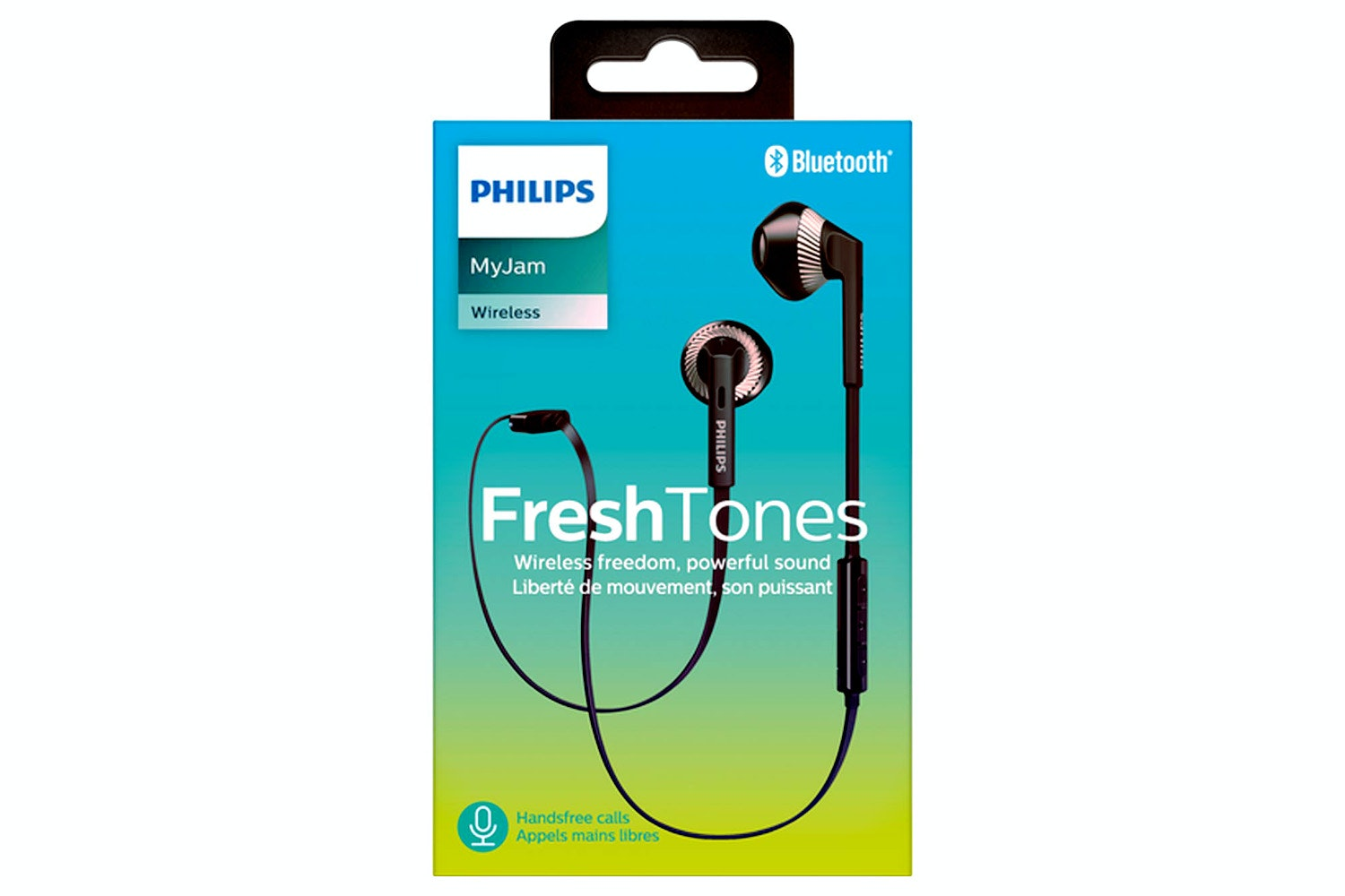 Philips In-Ear Headphones Black | SHB5250BK/00