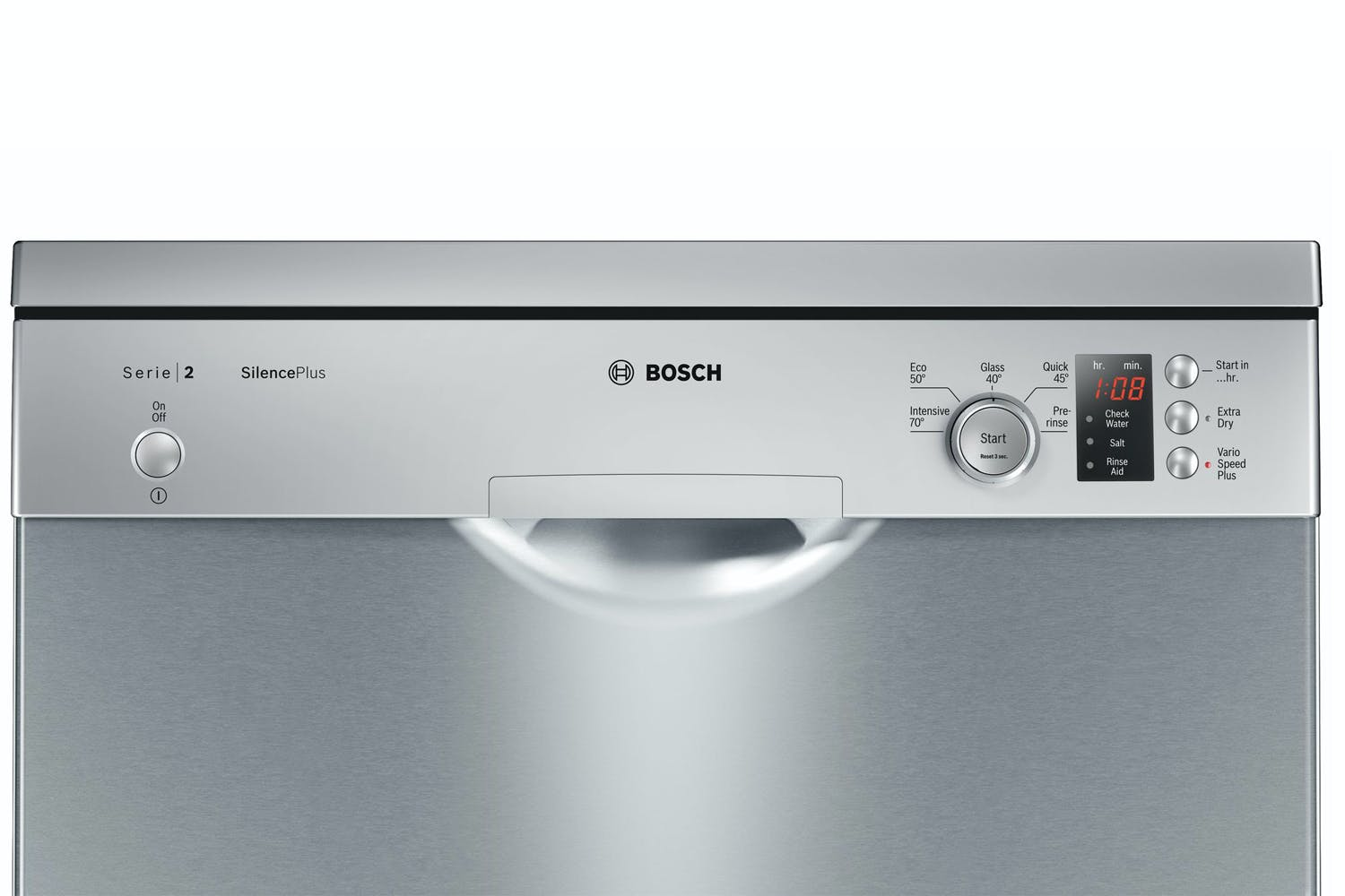 bosch serie 2 freestanding dishwasher 12 place. Black Bedroom Furniture Sets. Home Design Ideas