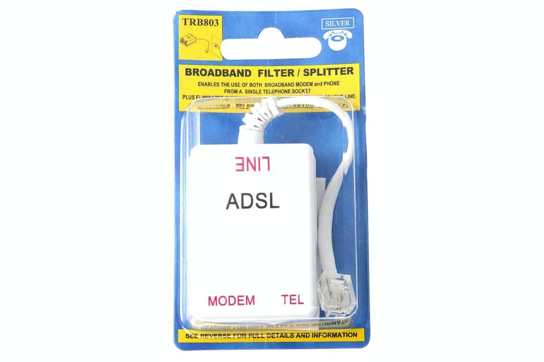 Silver Broadband Splitter   TRB803