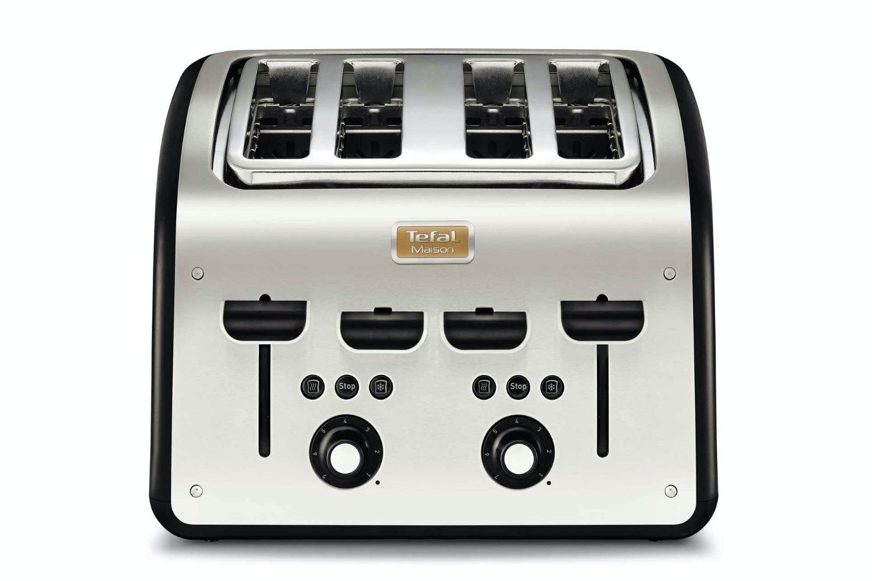 Tefal Stainless Steel 4 Slice Toast   TT7708UK