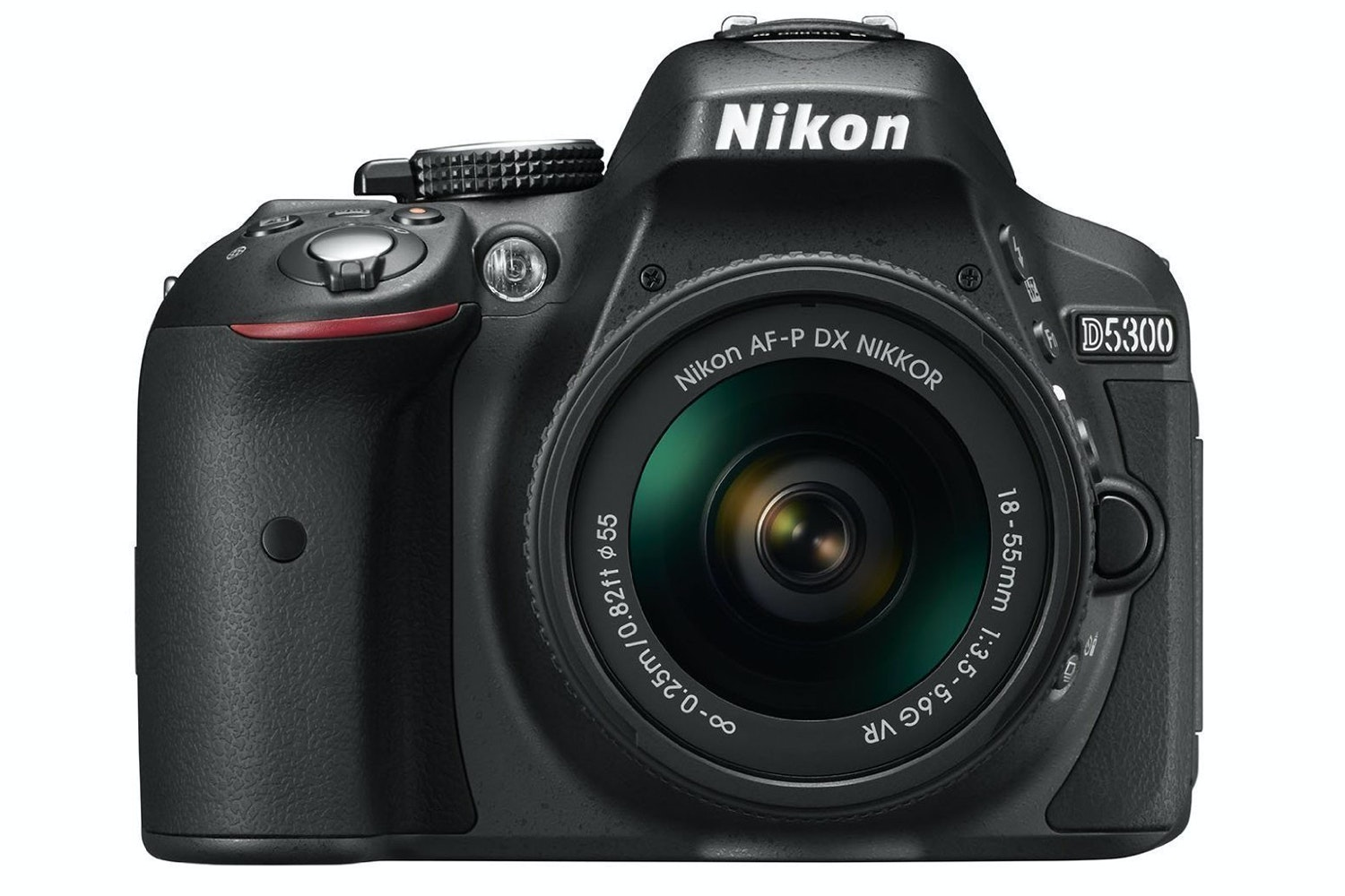 Nikon D5300 DSLR Camera with AF-P 18-55 VR DX Lens Kit