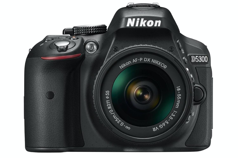 Nikon D5300 DSLR Camera with AF-P 18-55 VR DX Lens Kit