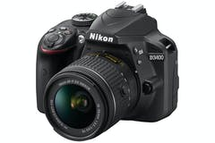 Nikon D3400 DSLR Camera with AF-P 18-55 VR Lens Kit