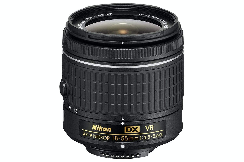 Nikon D3400 DSLR Camera with AF-P 18-55 VR Lens Kit