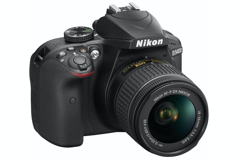 Nikon D3400 DSLR Camera with AF-P 18-55 Lens kit