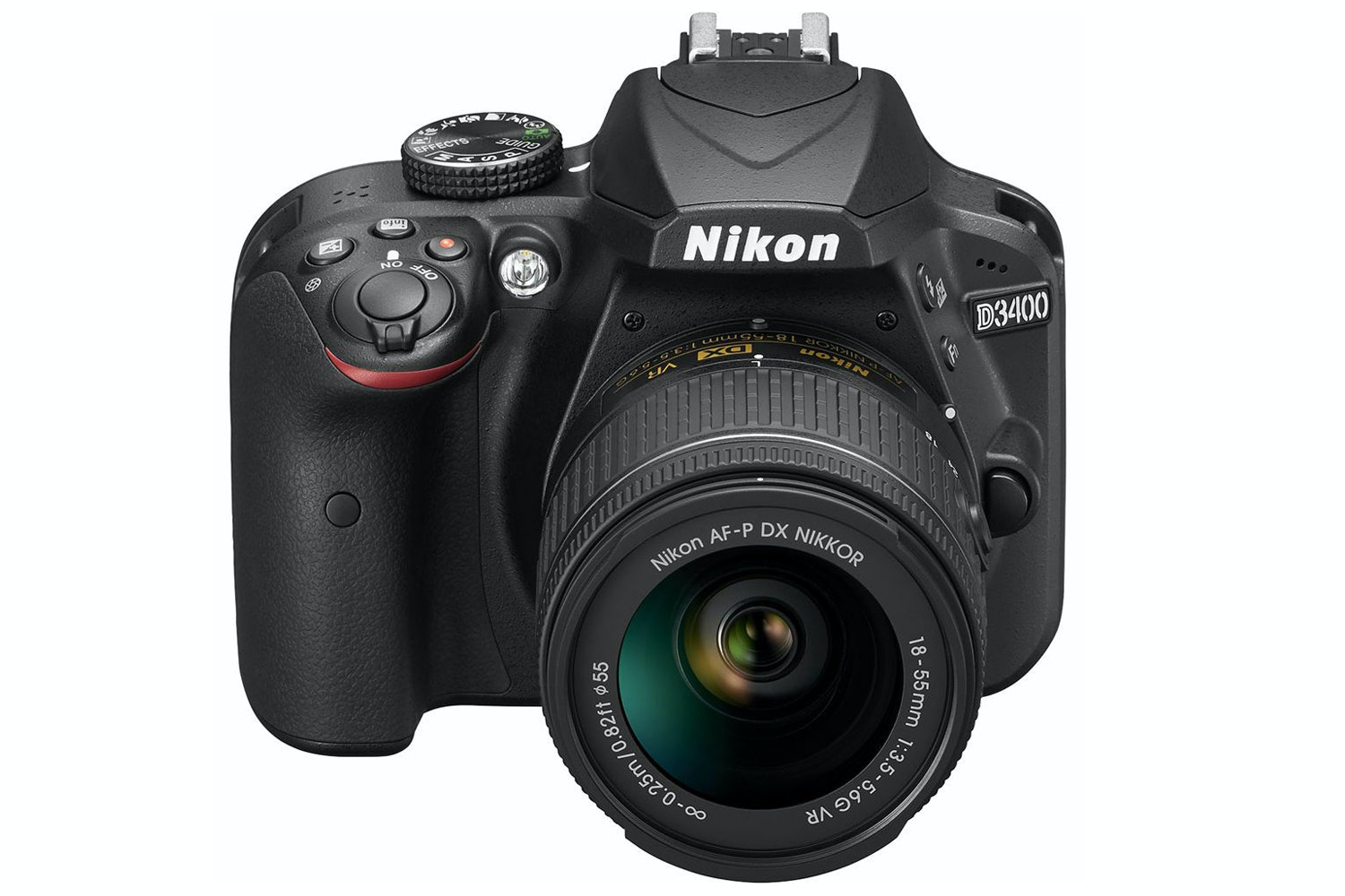 Nikon D3400 DSLR Camera with AF-P 18-55 Lens kit