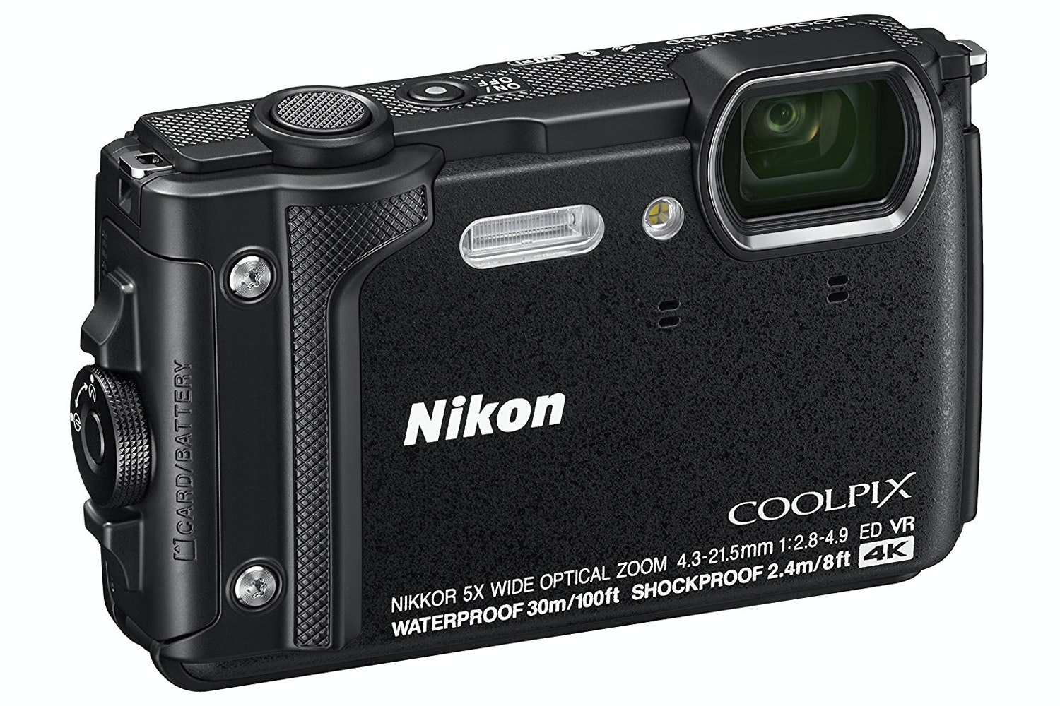 Nikon Coolpix Digital Camera W300 | Black