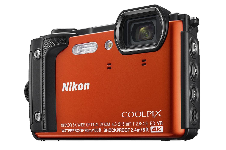 Nikon Coolpix Digital Camera W300 | Orange