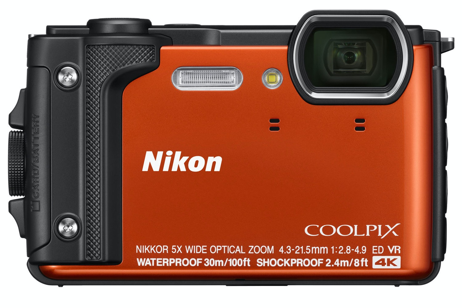 Nikon Coolpix Digital Camera W300 | Orange