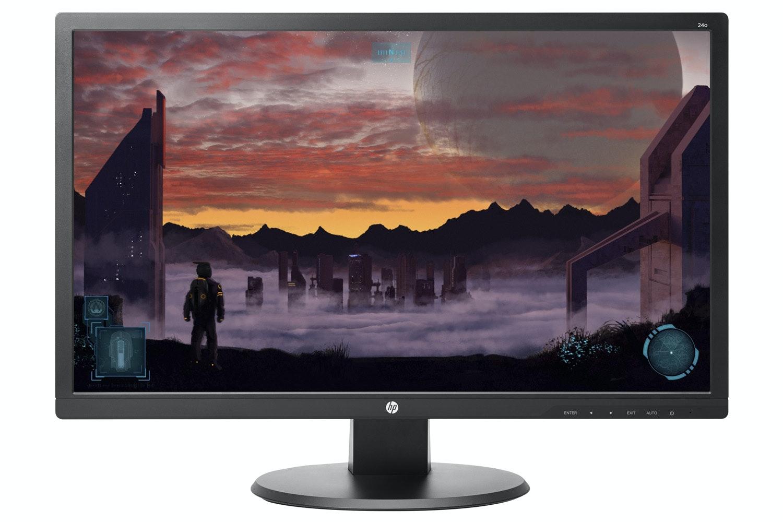 """HP 24O 24"""" LED Backlit Monitor"""