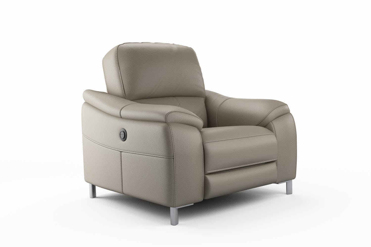 Yvezza Electric Recliner Chair | Grey