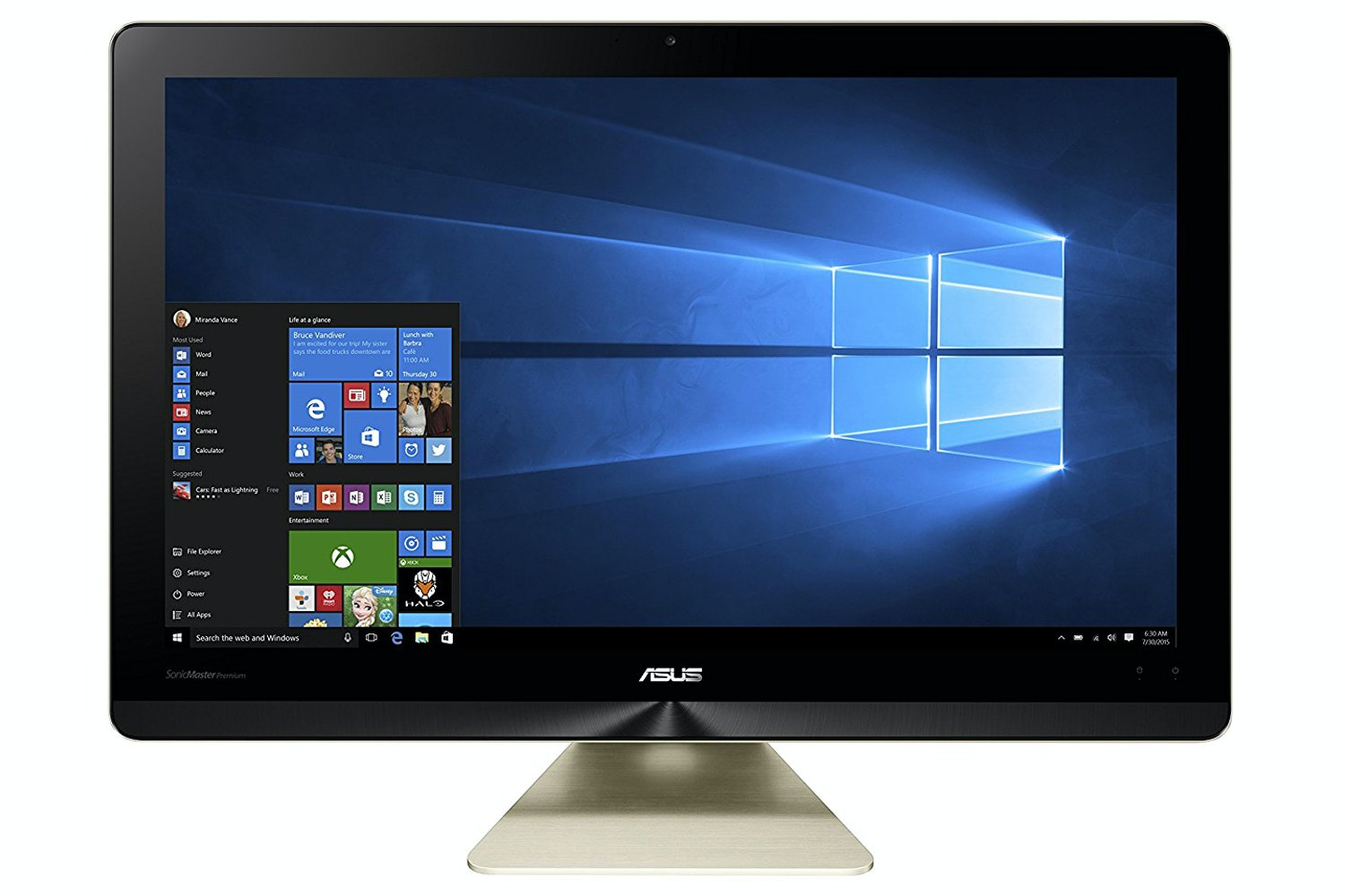 """Asus Z220 21.5"""" All In One Core i3   4GB   1TB"""