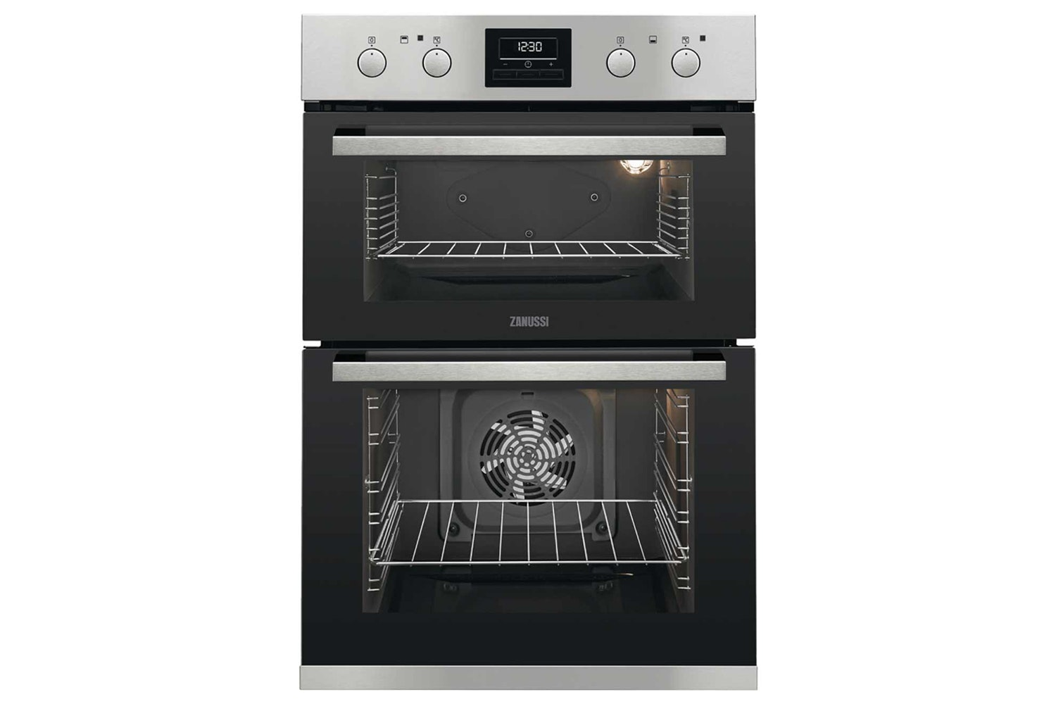 Zanussi Built-in Double Oven | ZOD35802XK