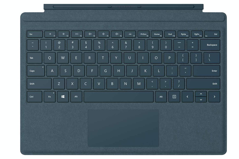 Microsoft Surface Pro Signature Type Cover   Cobalt Blue