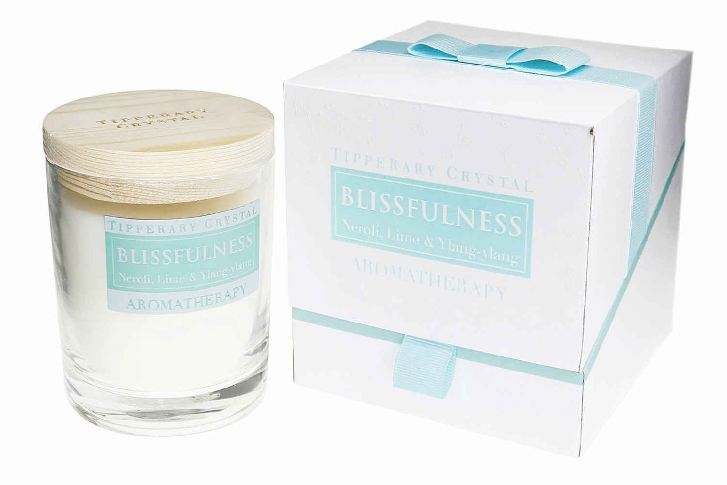 Tipperary Crystal|Blissfulness Neroli Lime And Ylang Ylang Candle