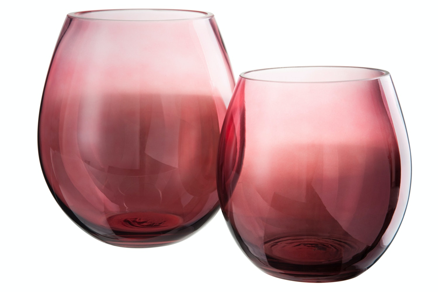 Hurricane Glass Red | Large