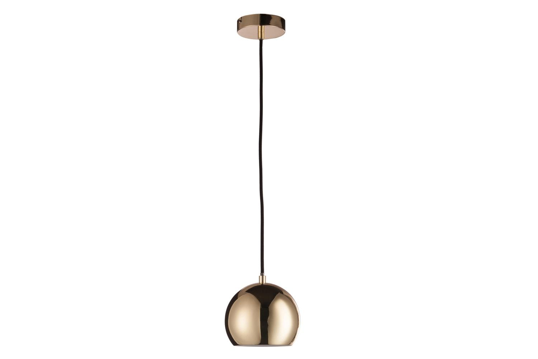 Hang Lamp Ball Metal Gold   Small