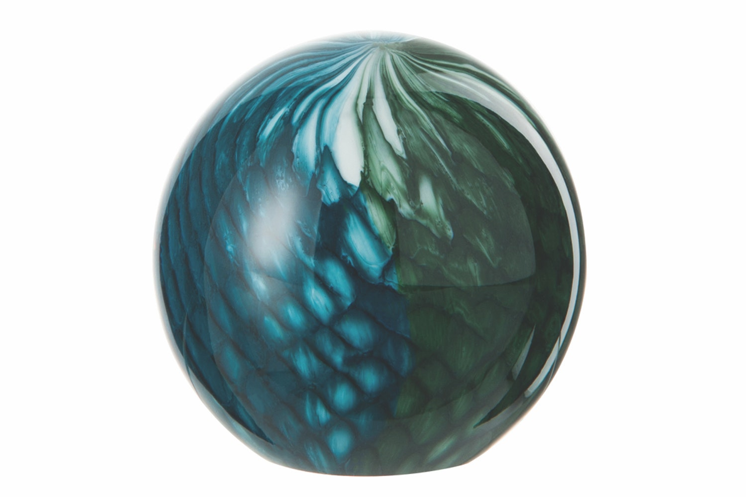 Paperweight Small Blue And Green
