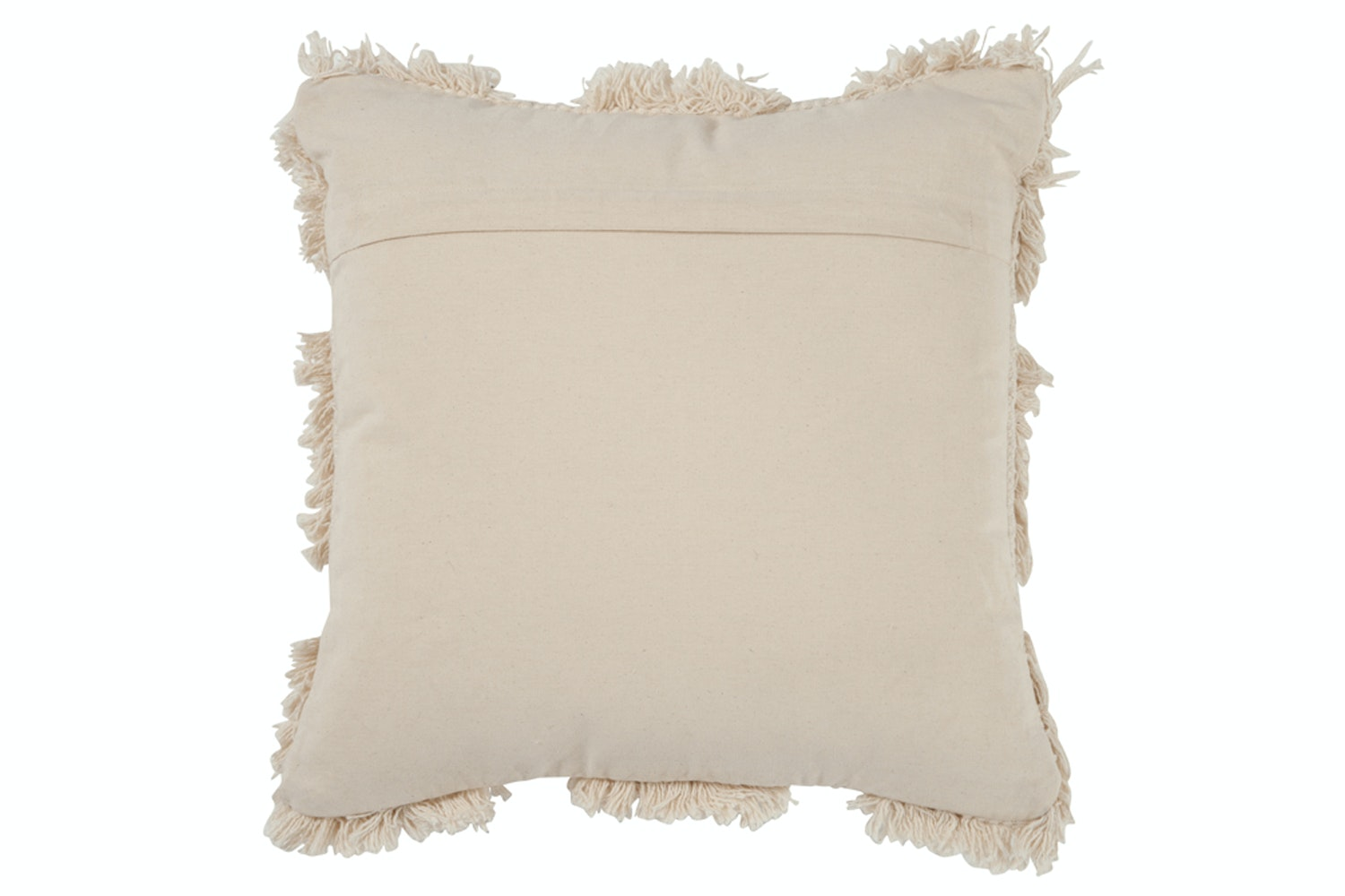 Cushion Morocco Cotton White
