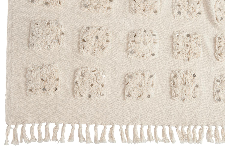 Plaid Morocco Cotton White