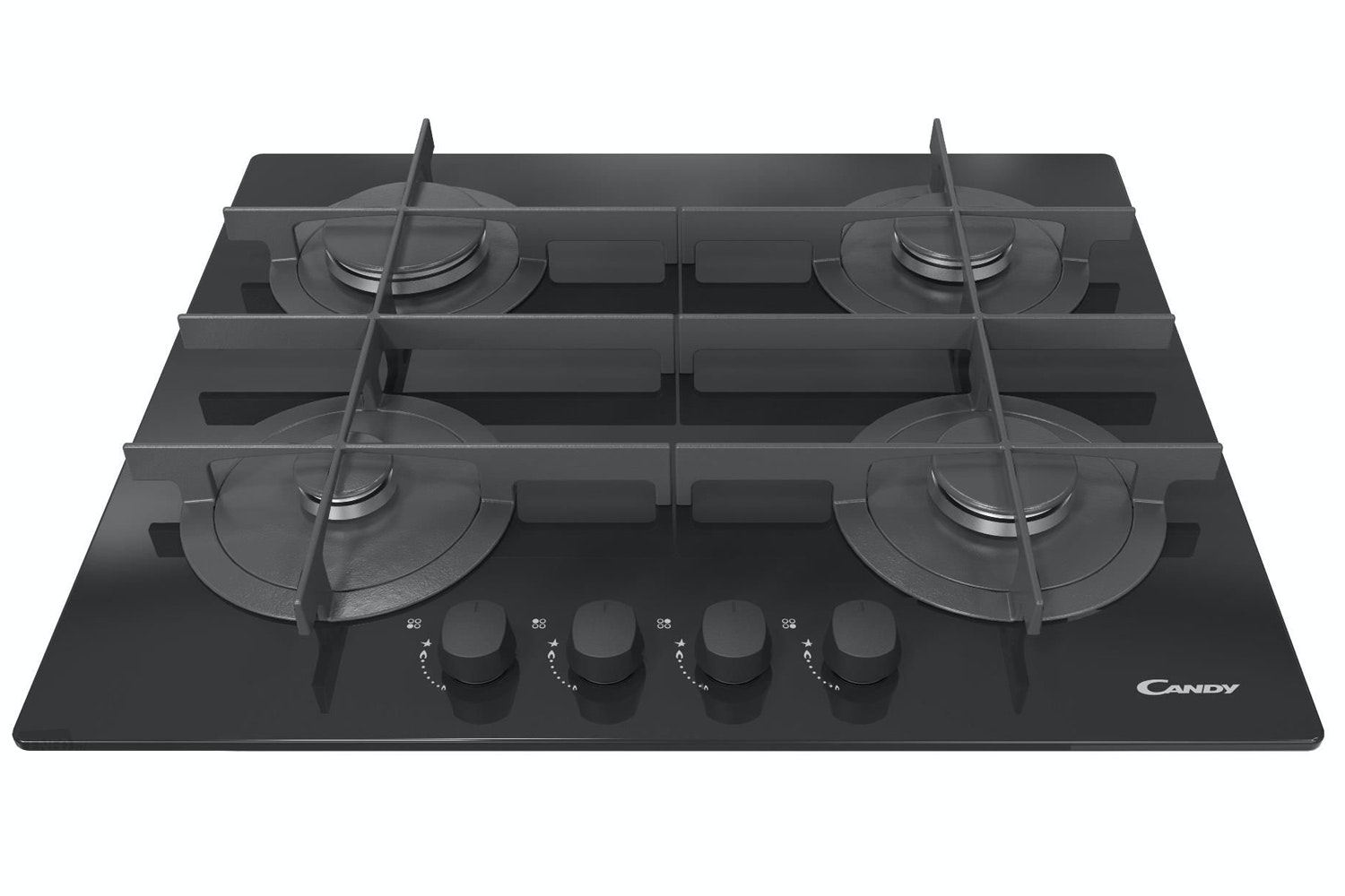 Candy 60cm 4 Burner Gas Hob | CVG64STGN