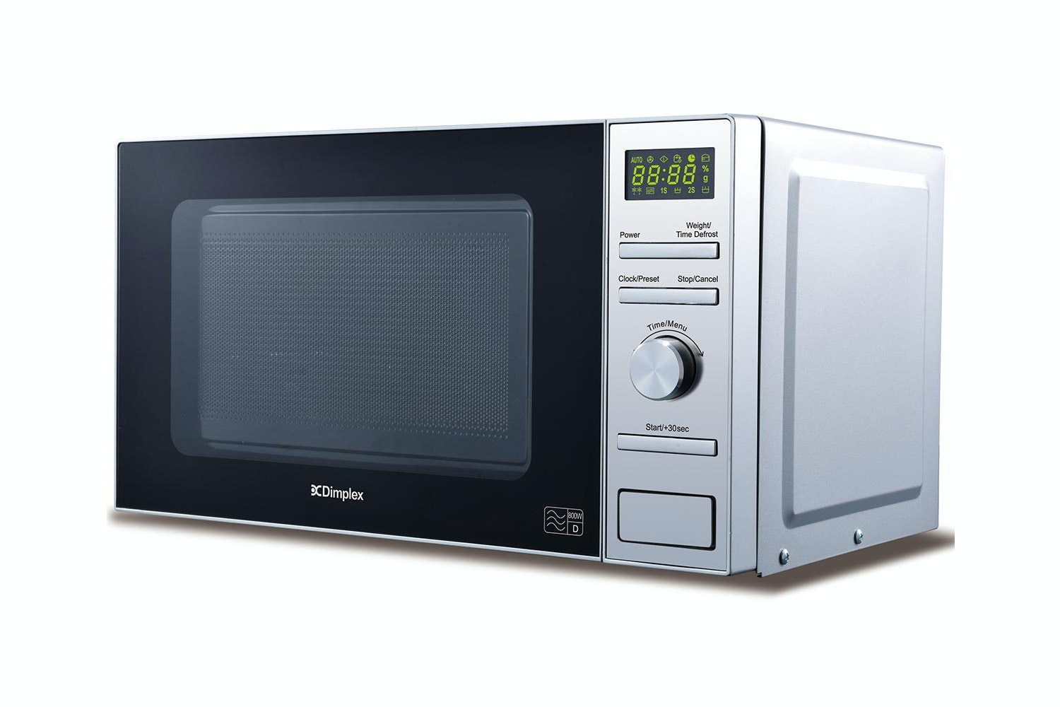 Dimplex 20L 800W Freestanding Microwave | Silver