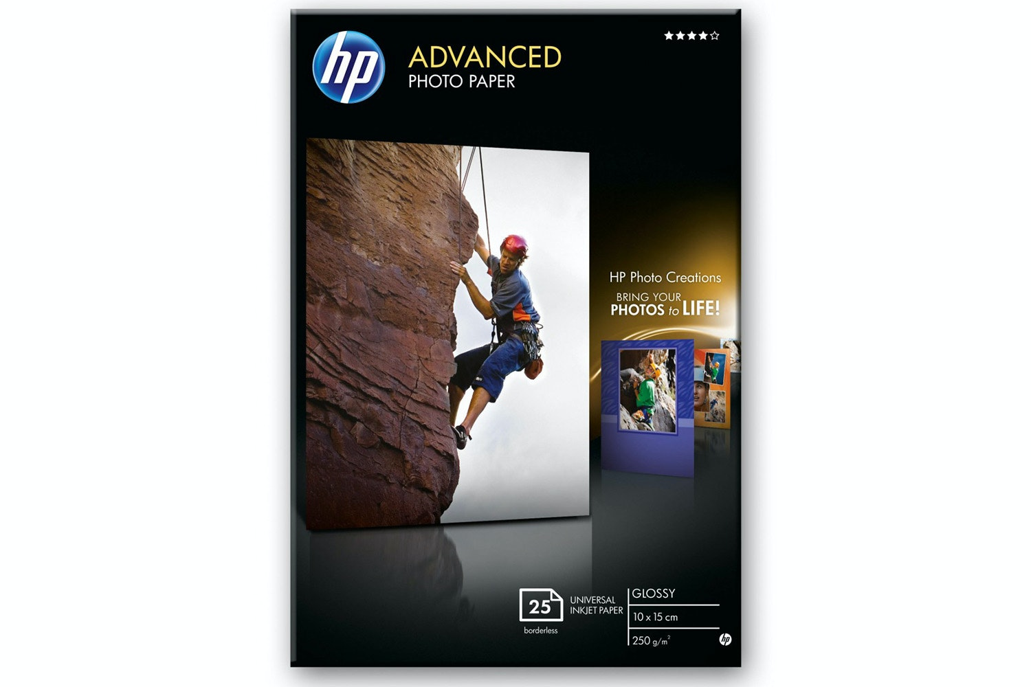 "HP Advanced Photo 4"" x 6"" Paper 