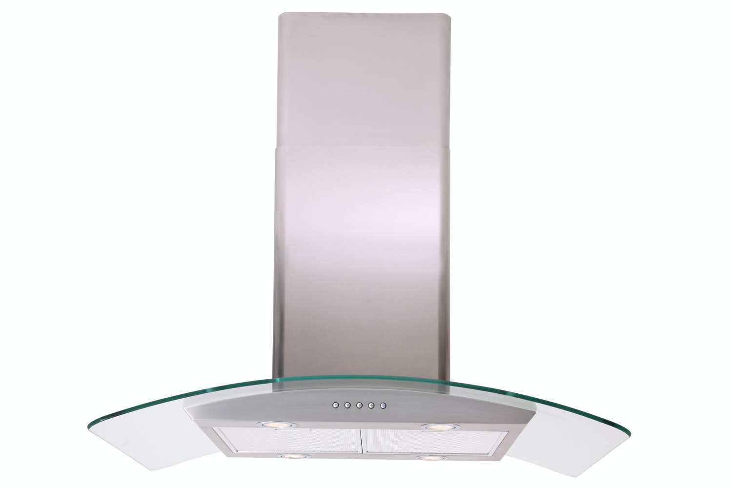 Luxair Curved Glass Cooker Hood | LA60CVDGLSS